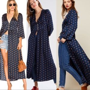 🆕Just In🔥Free People Maxi Boho Tunic & Duster